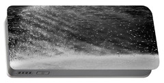 Water Ripples 1 Portable Battery Charger by Glenn Gemmell