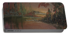 Water Scene 1 Portable Battery Charger