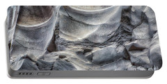Water Sculpting Rock Art By Kaylyn Franks  Portable Battery Charger
