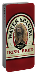 Water Spaniel Irish Bred Premium Lager Portable Battery Charger