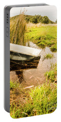 Water Troughs And Outback Farmland Portable Battery Charger