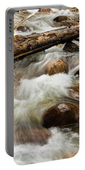 Portable Battery Charger featuring the photograph Water Under The Bridge by Alex Lapidus