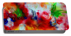 Watercolor Abstract Series G1015a Portable Battery Charger