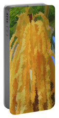 Portable Battery Charger featuring the photograph Watercolor Cascading Seed Pod by Aimee L Maher Photography and Art Visit ALMGallerydotcom