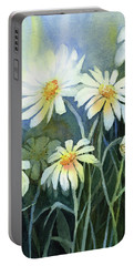 Daisies Flowers  Portable Battery Charger