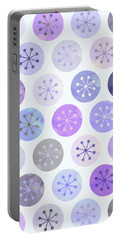 Watercolor Lovely Pattern II Portable Battery Charger