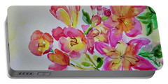 Watercolor Series No. 225 Portable Battery Charger
