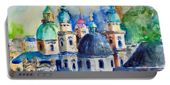 Watercolor Series No. 247 Portable Battery Charger