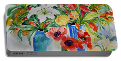 Watercolor Series No. 256 Portable Battery Charger