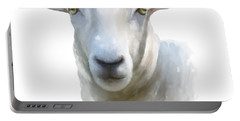 Watercolor Sheep Portable Battery Charger