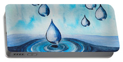 Waterdrops Portable Battery Charger