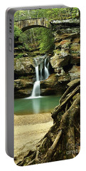 Waterfall And Roots Portable Battery Charger