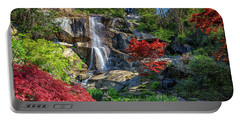 Portable Battery Charger featuring the photograph Waterfall At Maymont by Rick Berk