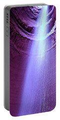 Waterfall At Ruby Falls Portable Battery Charger