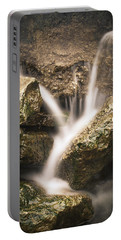 Waterfall Detail  Portable Battery Charger by Scott Meyer