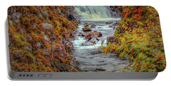 Waterfall #g8 Portable Battery Charger