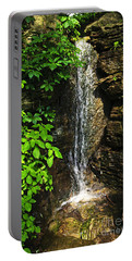 Waterfall In Forest Portable Battery Charger