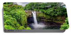 Waterfall Into The Valley Portable Battery Charger