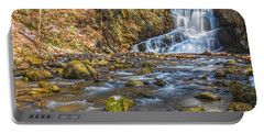 Waterfall Of April Snow Portable Battery Charger