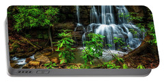 Portable Battery Charger featuring the photograph Waterfall On Back Fork by Thomas R Fletcher