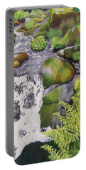 Waterfall On Skye Portable Battery Charger