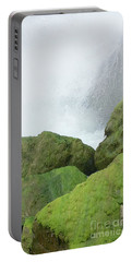Portable Battery Charger featuring the photograph Waterfall by Raymond Earley