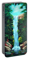 Waterfall Sanctuary Portable Battery Charger