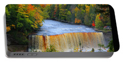 Waterfalls Of Michigan Portable Battery Charger