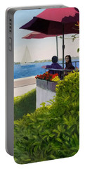 Waterfront Cafe Portable Battery Charger