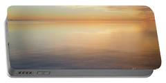 Portable Battery Charger featuring the photograph Waterfront View By Sunset by Kennerth and Birgitta Kullman