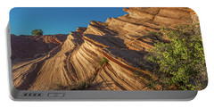 Waterhole Canyon Rock Formation Portable Battery Charger