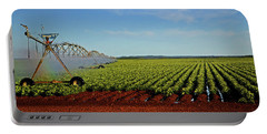 Portable Battery Charger featuring the photograph Watering The Garden 002 by George Bostian