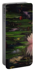 Waterlilies - Original Sold Portable Battery Charger