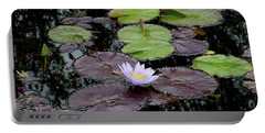Waterlily - 001 Portable Battery Charger by Shirley Heyn