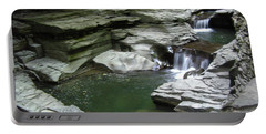 Portable Battery Charger featuring the photograph Watkins Glen State Park by John Schneider