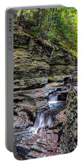 Portable Battery Charger featuring the photograph Watkins Glenn 2 by Paul Wear