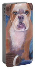 Portable Battery Charger featuring the painting Watson by Patricia Cleasby