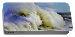 Moody Surf Portable Battery Charger by Michael Cinnamond