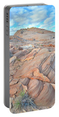 Wave Of Sandstone In Valley Of Fire Portable Battery Charger