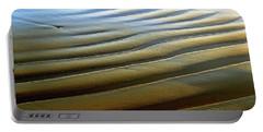 Wave Patterns At Drake's Beach, Point Reyes National Seashore Portable Battery Charger