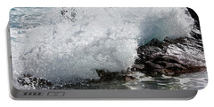 Wave Smash Portable Battery Charger by Nicholas Burningham