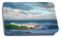 Portable Battery Charger featuring the photograph Wave Length by Darren White