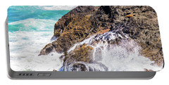 Portable Battery Charger featuring the photograph Waves In The Pacific by Jonny D