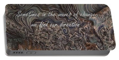 Waves Of Change Portable Battery Charger