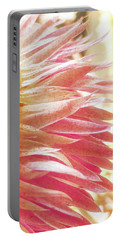 Waves Of Petals Portable Battery Charger by Steve Taylor