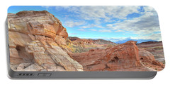 Waves Of Sandstone In Valley Of Fire Portable Battery Charger