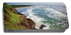 Waves On The Washington Coast Portable Battery Charger