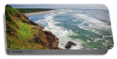 Waves On The Washington Coast Portable Battery Charger