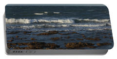 Waves Rolling Ashore Portable Battery Charger