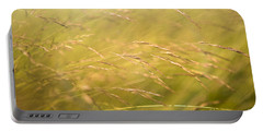 Waving Grass Portable Battery Charger by Diane Diederich